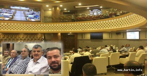 Meclis Üyeleri Antalya'da