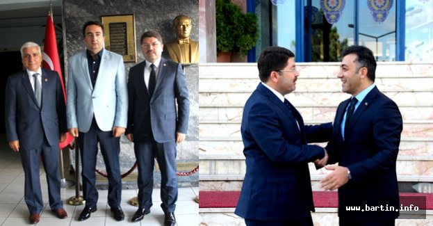 Tunç'tan Vural ve Tosun'a Hayırlı Olsun Ziyareti