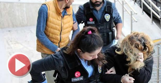 Uyuşturucu operasyonunda koca tutuklandı, eşi serbest
