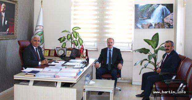 Uzun'dan Meclis Başkanına Ziyaret
