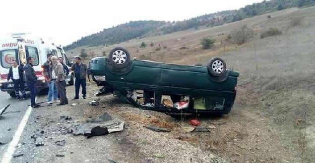 Zincirleme kaza: 1 ölü, 5 yaralı