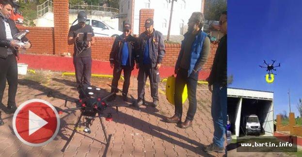 AFAD Drone'u Test Uçuşlarına Başladı