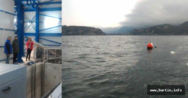 Amasra Derin Deniz Deşarjı Tamamlandı