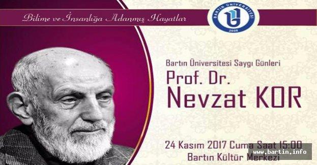 Bartın Üniversitesi Saygı Günleri Başlıyor