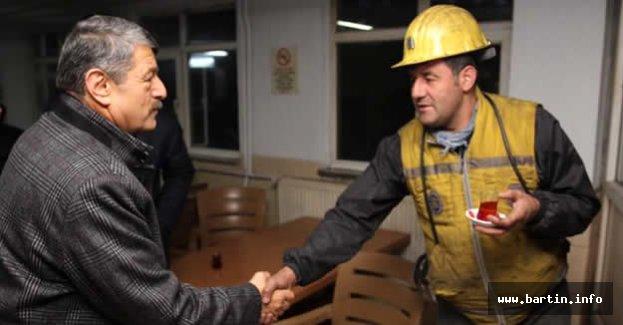 Başkan Akın'dan Amasra TTK'ya Ziyaret