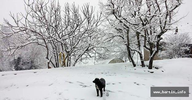 Batı Karadeniz'de kuvvetli kar Uyarısı