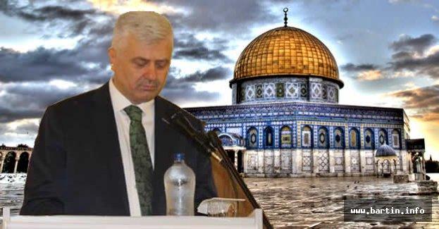 Aksoy: Kudüs İnsanlık Meselesidir