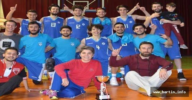 Bartın Üniversitesi 1.Lig'e Yükseldi
