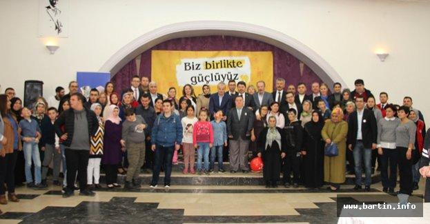 Engelliler ve Aileleri Doyasıya Eğlendi