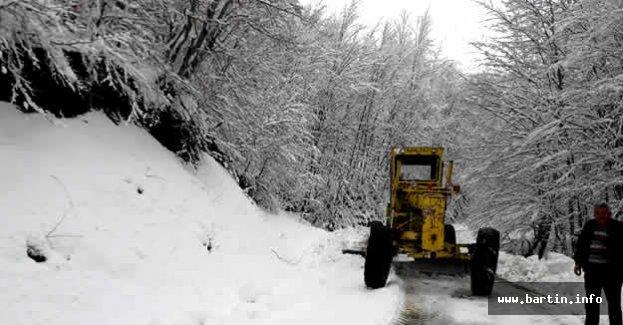 Kardan Kapanan Köy Yolları Açıldı