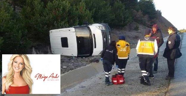 Müge Anlı'nın Ekibi Kaza Yaptı:  1 Yaralı
