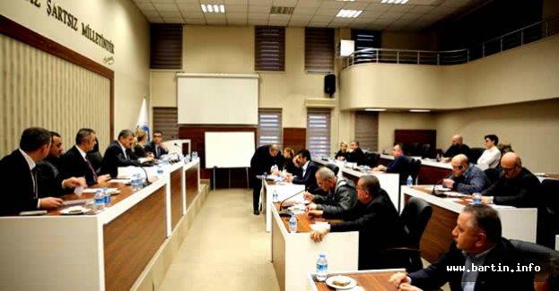 Belediye Meclisi 22 Maddeyi Karara Bağladı