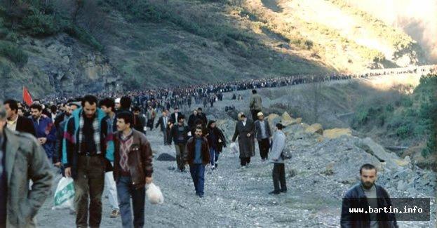 Büyük Madenci Yürüyüşü'nün 27'nci yılı