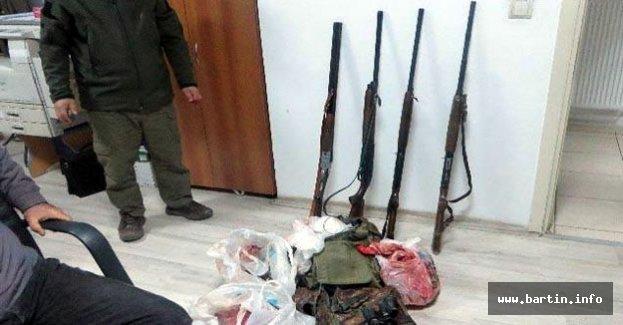 Karaca avcılarına 10 bin 471 TL ceza