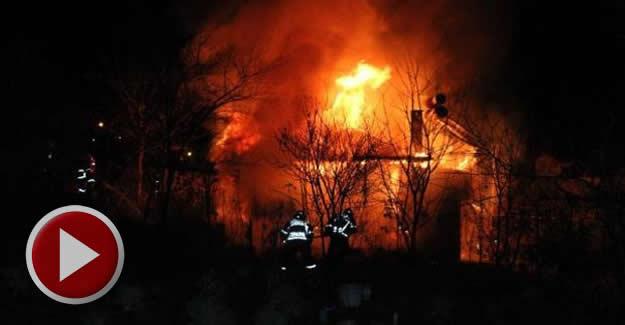 15 gün sonra eve dönen çifte yangın şoku