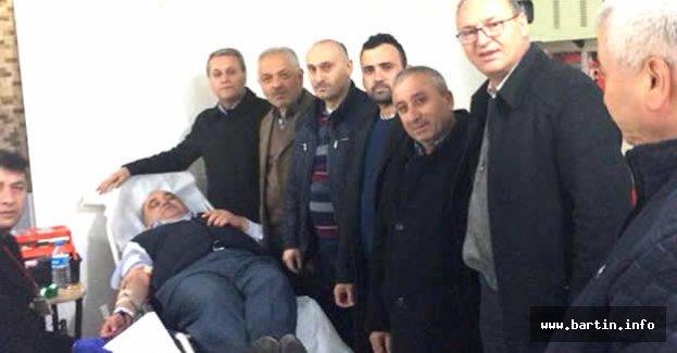 Afrin'deki Mehmetçik İçin Kan Bağışladılar
