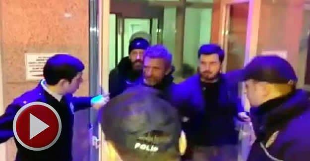 Cumhurbaşkanı Erdoğan'ın posterini indirdi, gözaltına alındı