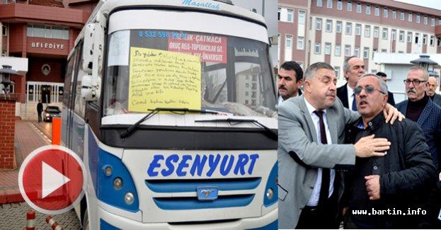 Minibüs Esnafından Cezalara İsyan