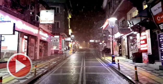Bartın'a Beklenen Kar Mart Ayıyla Geldi