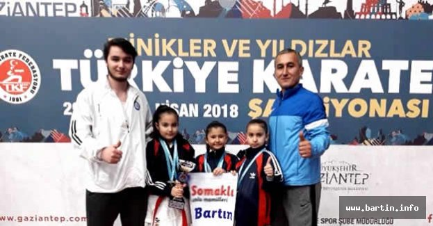 Bartın'dan Milli Takıma 3 sporcu