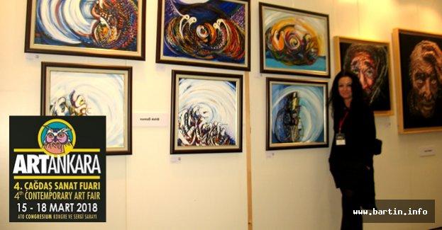 Bartınlı Ressam Ankaralı sanatseverlerle buluşuyor
