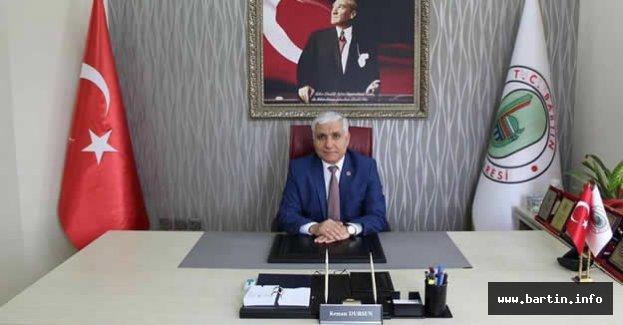 Başkan Dursun'dan 8 Mart Mesajı