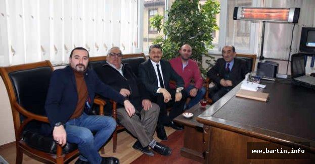 Başkandan Şerbetçiler Odasına Ziyaret