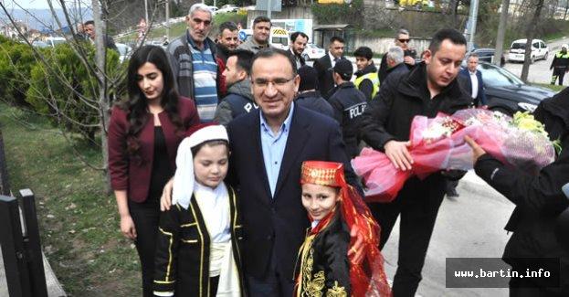 Bozdağ, Bartın'dan Kılıçdaroğlu'na Seslendi