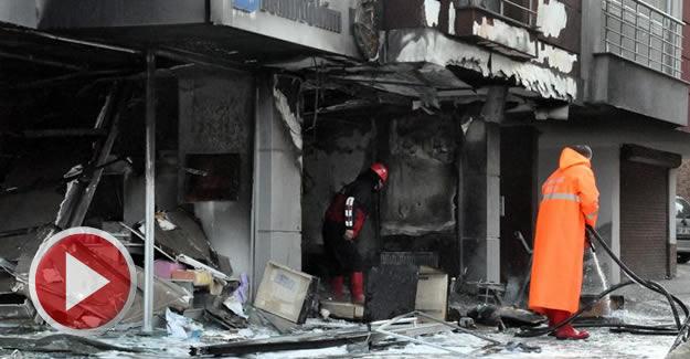 Doğalgaz patladı, yangın çıktı: 2 Yaralı