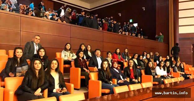 Şerife Bacı Lisesi öğrencileri TBMM'de