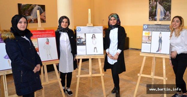 Ulus MYO Öğrencilerinden Moda Sergisi