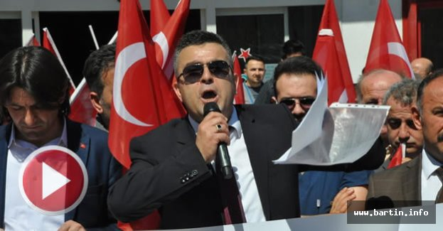 Bartın'da Başhekim Protestosu