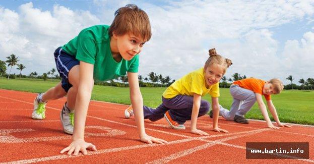 Bartın'da Çocuk Atletizmi Projesi