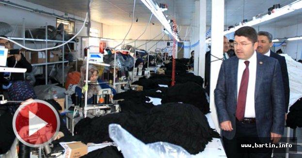 Ulus'taki Fabrikalara Ziyaret