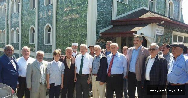 Yeşil Camii Törenle Açıldı