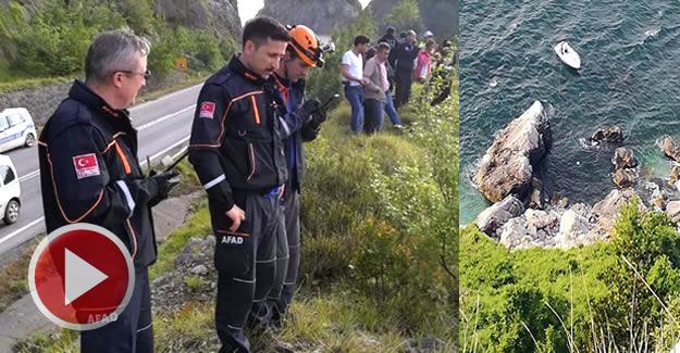 Liseli Selinay, deniz manzarasını izlerken kayalıklara düşmüş