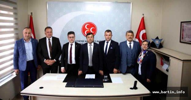 MHP Adayları Basınla Buluştu