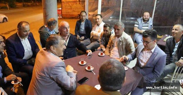 Başkan Çaydüzü Sakinleri Dinledi