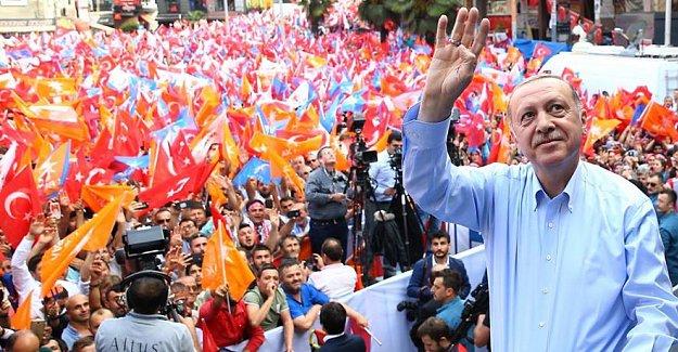 Erdoğan Müjdeyi Zonguldak'tan Verdi