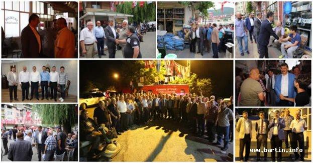 Kumluca, MHP Adaylarını Bağrına Bastı