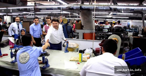 Tunç'tan Fabrika Ziyareti