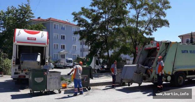 Çöp Konteynerleri Yenilendi