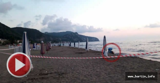 İnkum Sahilinde Varil Alarmı