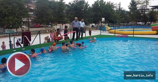 Kozcağız'da Çocukların Aqua Park Keyfi