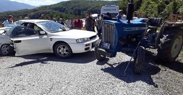 Bayram Tatili Yolunda Feci Kaza: 1 Ölü, 2 Yaralı