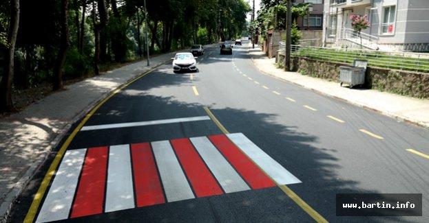 Kanlıırmak Caddesi Yenilendi
