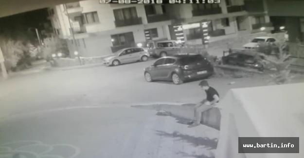 Motosiklet çalan küçük hırsız yakalandı