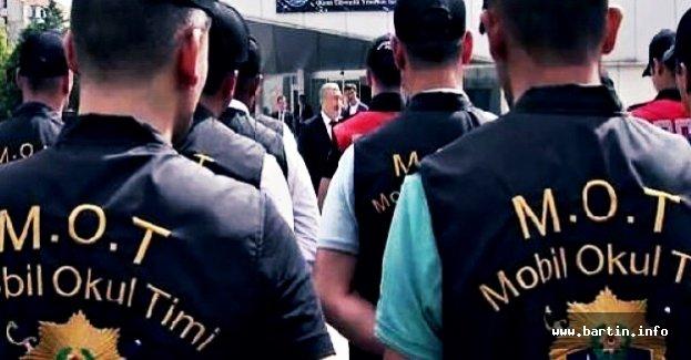 Bartın'da Öğrencileri MOT Timleri Koruyacak