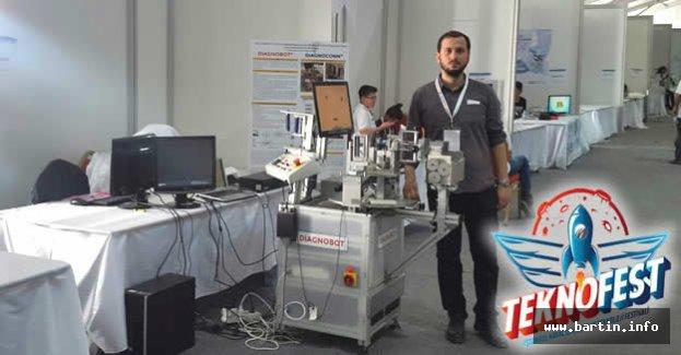 Bartın, Diagnobot ile Teknofest'te