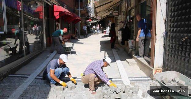 Demirciler Sokak'ta Üstyapı Yenileniyor
